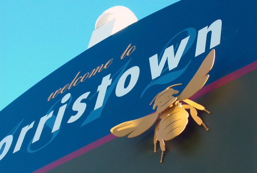 Norristown Bee Detail