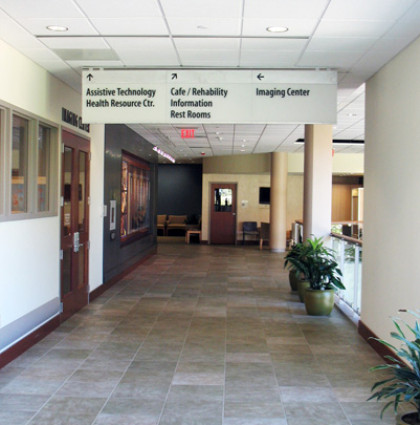Good Shepherd Rehabilitation Hospital Wayfinding