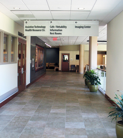 Good Shepherd Rehabilitation Hospital Interior Directional