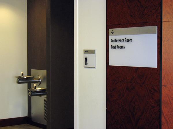 Good Shepherd Rehabilitation Hospital Interior Signage