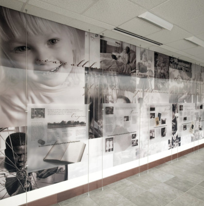 Good Shepherd Rehabilitation Hospital Legacy Wall