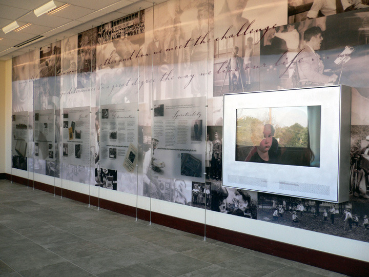 Good Shepherd Rehabilitation Hospital Legacy Wall
