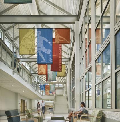 George School — Atrium Banners